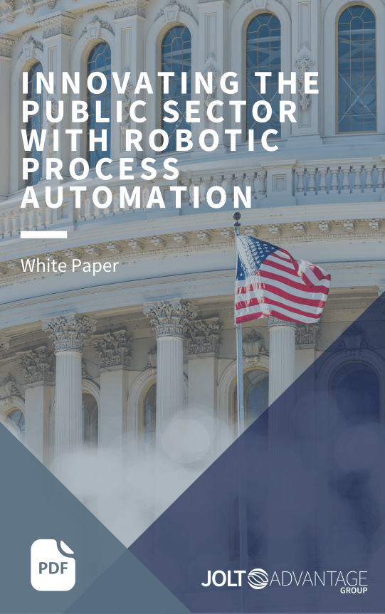 Innovating public sector with RPA cover