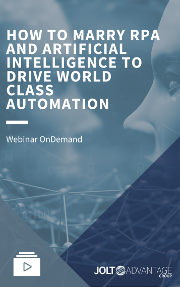 How to Marry RPA and Artificial Intelligence to Drive World Class Automation - Cover